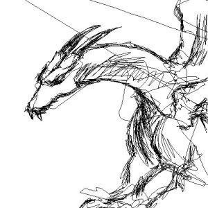 Um dragão =P